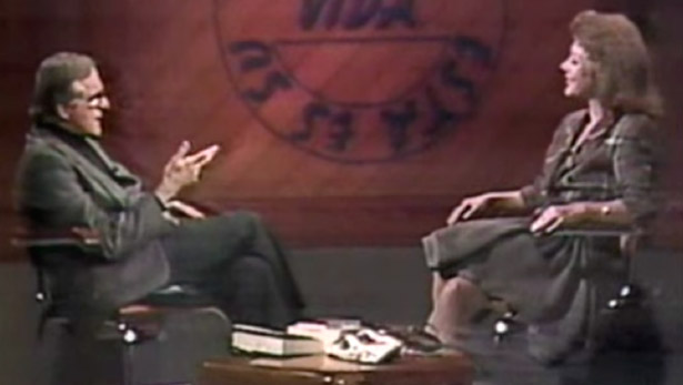 Bernardo Hoyos, periodista de la BBC, entrevista a Virginia sobre su vida, 1991